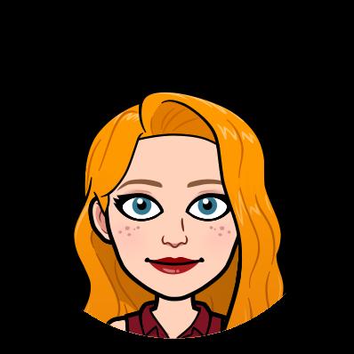 Bitmoji Image of redhead female