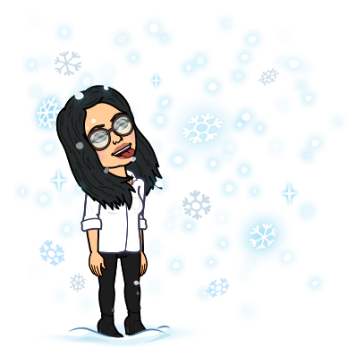catching snowflakes on your tongue