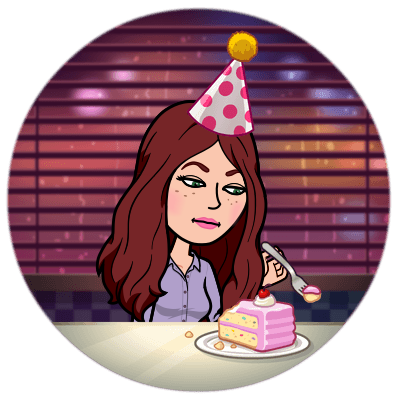eating birthday cake alone